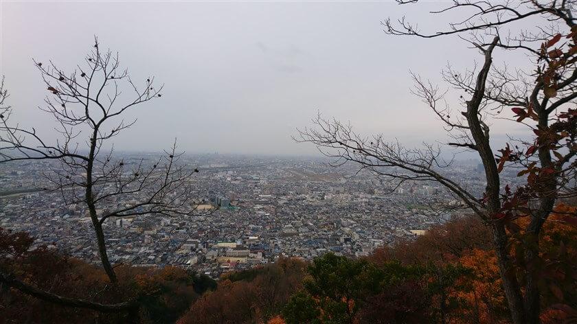 この「岩場」が、『高尾山 山頂の絶景ポイント』だった