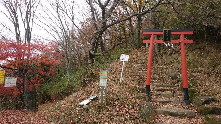 高尾山への登り口