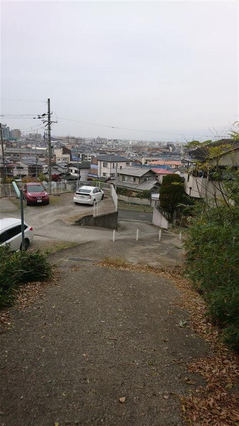 「なかよしの道」を出た地点の風景