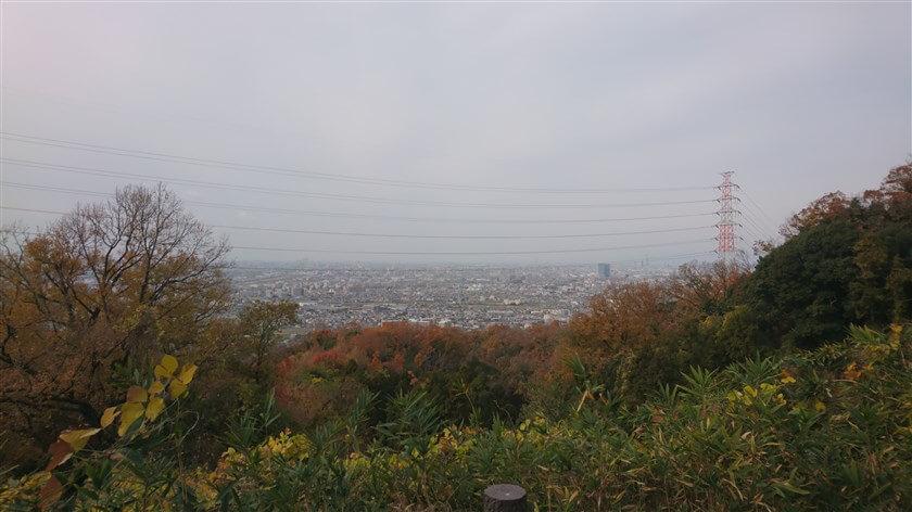 「展望台」からは、大阪の中部や南部が一望できる