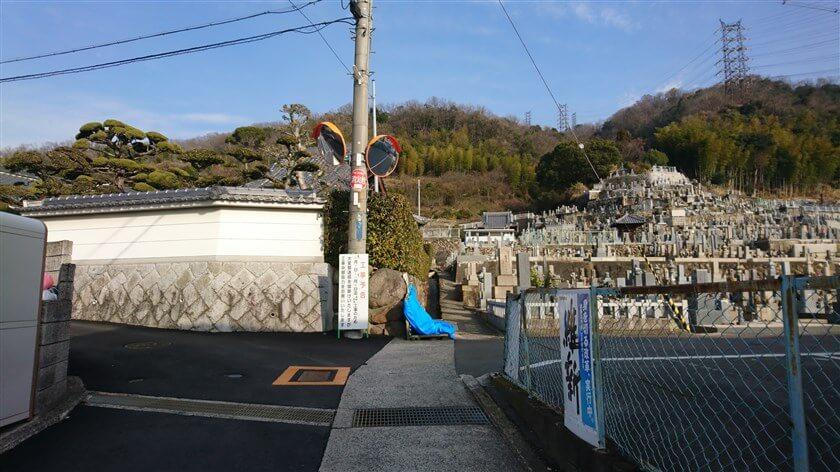 この「神宮寺」と言うお寺の横からも登れるかも?