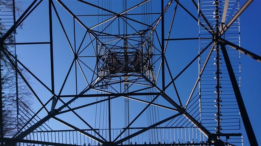 2つ目の、鉄塔の様子