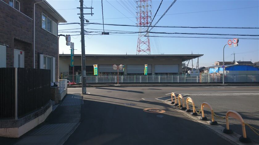 スタート地点の、クロネコヤマトの八尾神宮寺センターに帰着