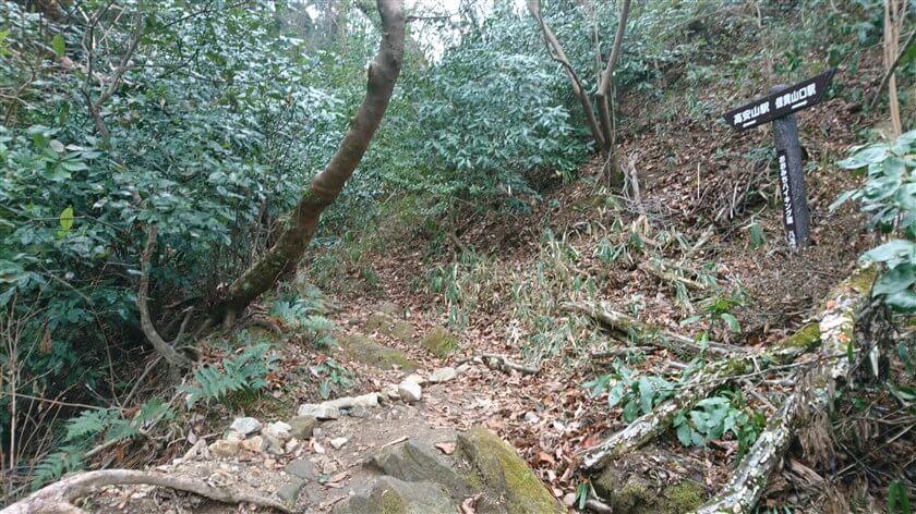 「おおみちハイキング道」(4本目)の道標