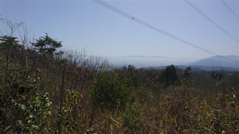 南東部の眺望