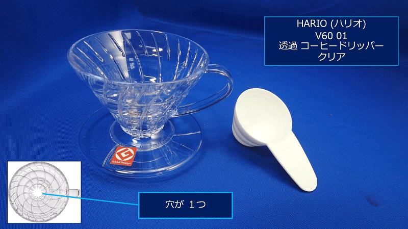 「円錐型」:HARIO (ハリオ)V60