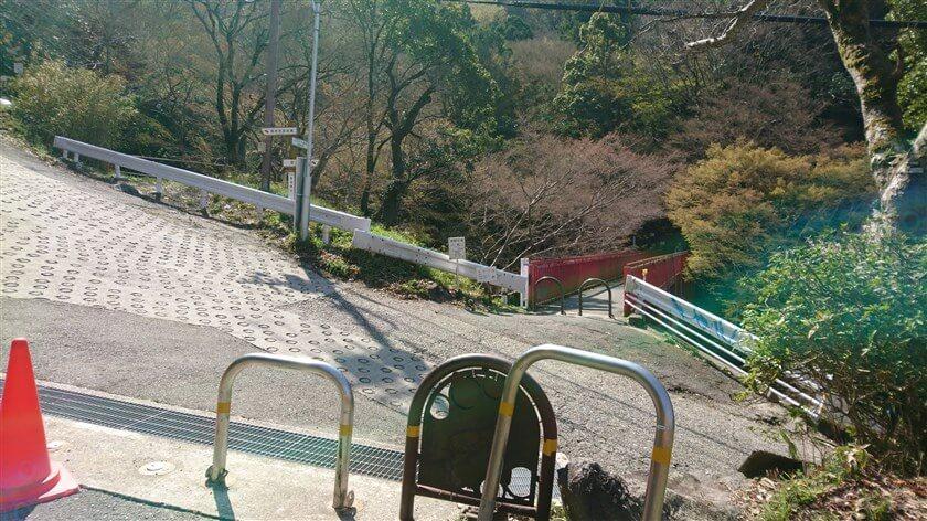 スタート地点の「豊浦橋」