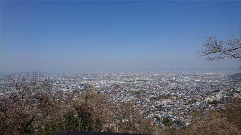 額田山展望台からの眺望:北部