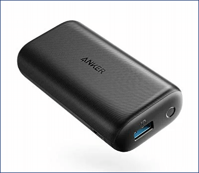 モバイルバッテリー:Anker PowerCore 10000 Redux ( 10000mAh )