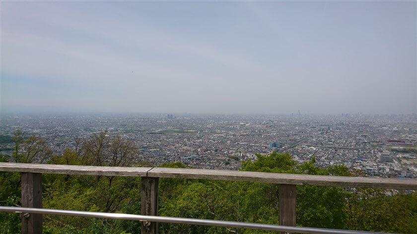 大阪平野の大パノラマ:西部