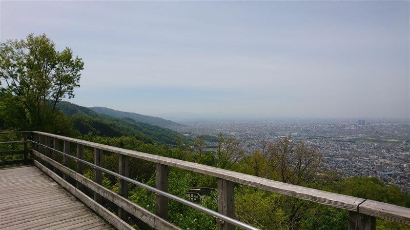 大阪平野の大パノラマ:南部
