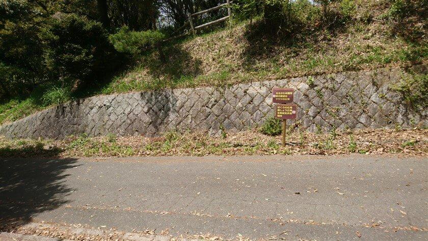 「森のレストハウス」を出て、管理道を左に降りる