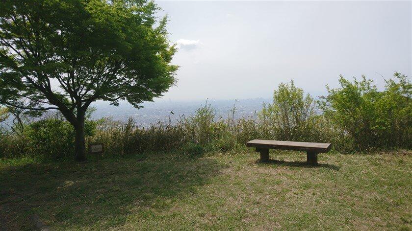 「客坊 展望台」からの眺め