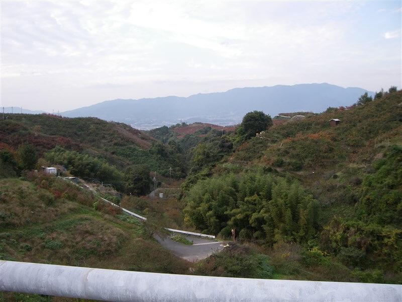 五條方面の風景
