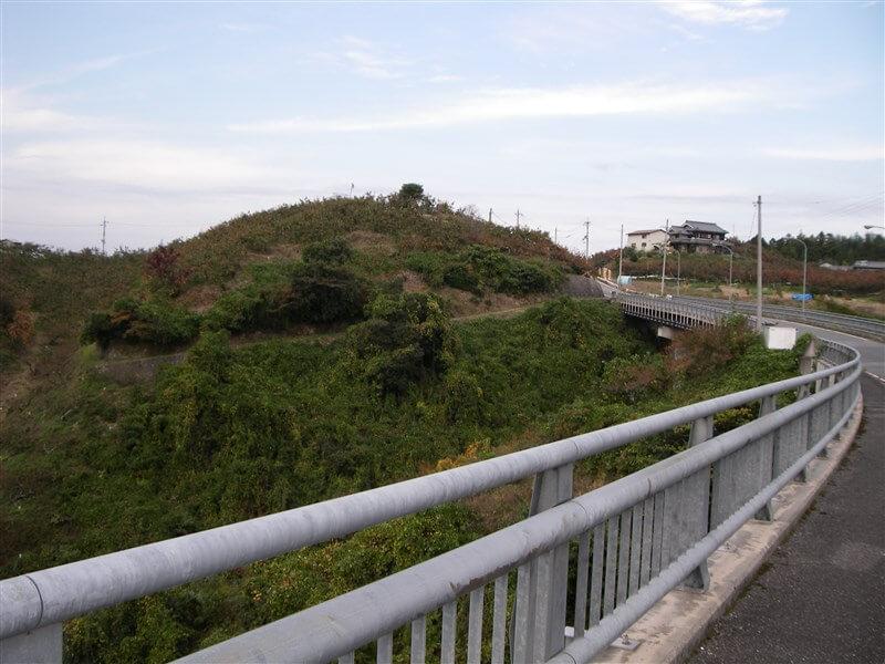 橋の上から、東方面
