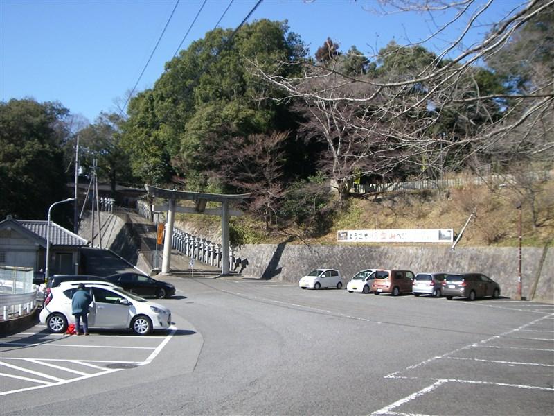 信貴山朝護孫子寺(しぎさんちょうごそんしじ)への登り口