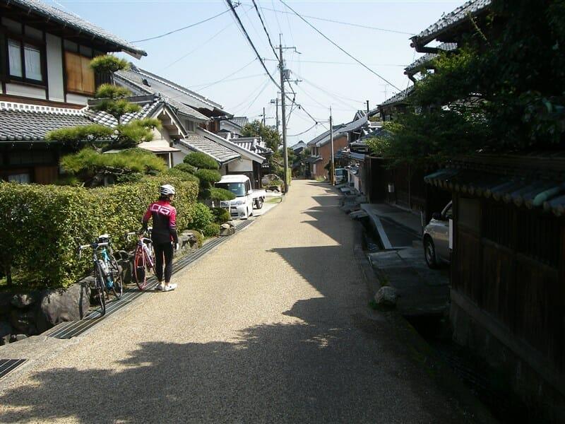 竹内の集落