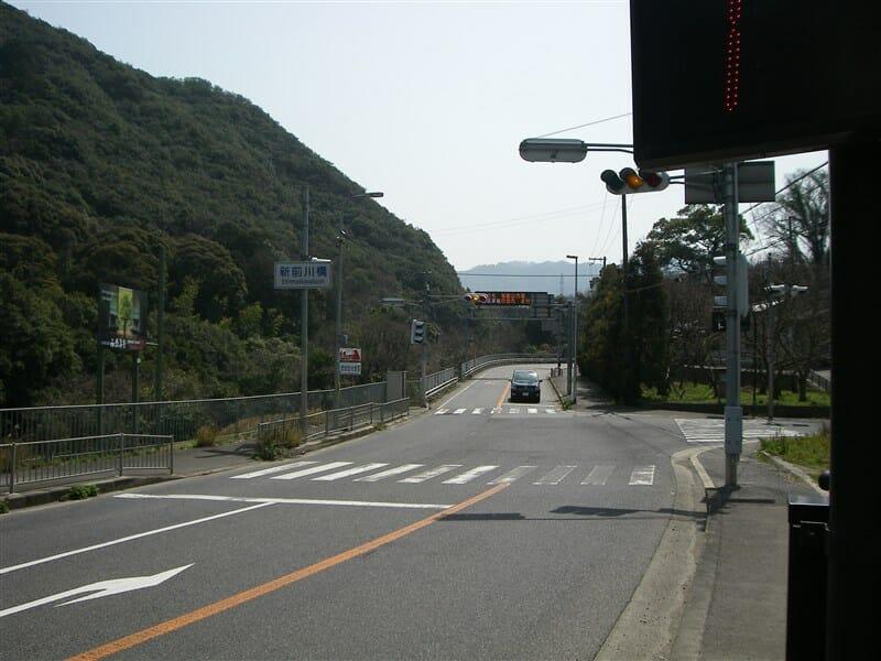 新前川橋付近