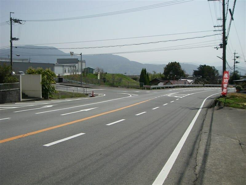 ここを左に行けば、紀ノ川広域農道に出る