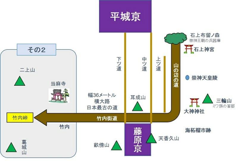 街道をゆく『1-2. 竹内街道』