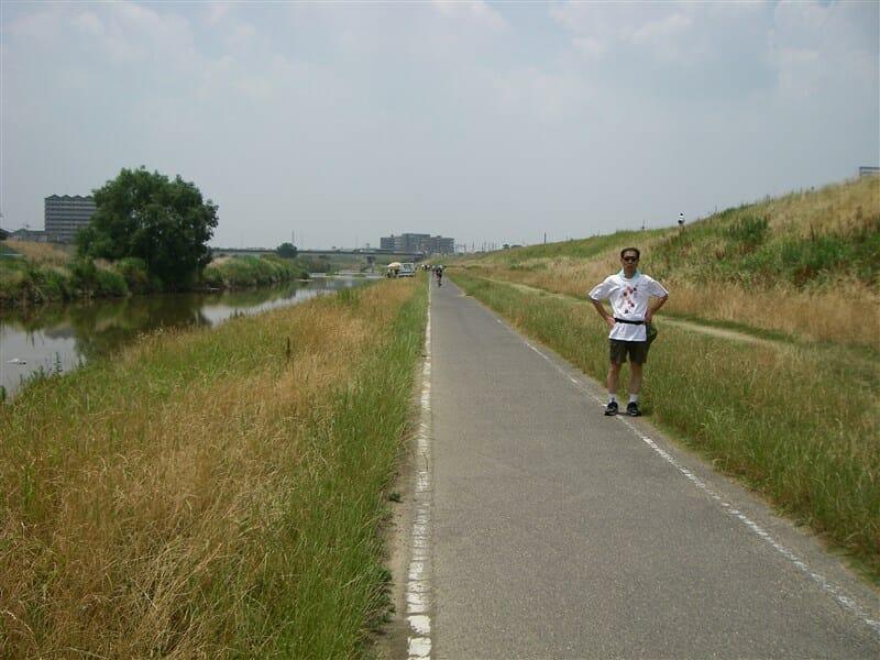 石川サイクリングロードが始まる