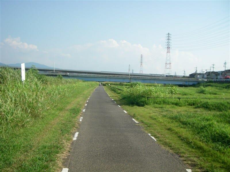 大黒橋を望む