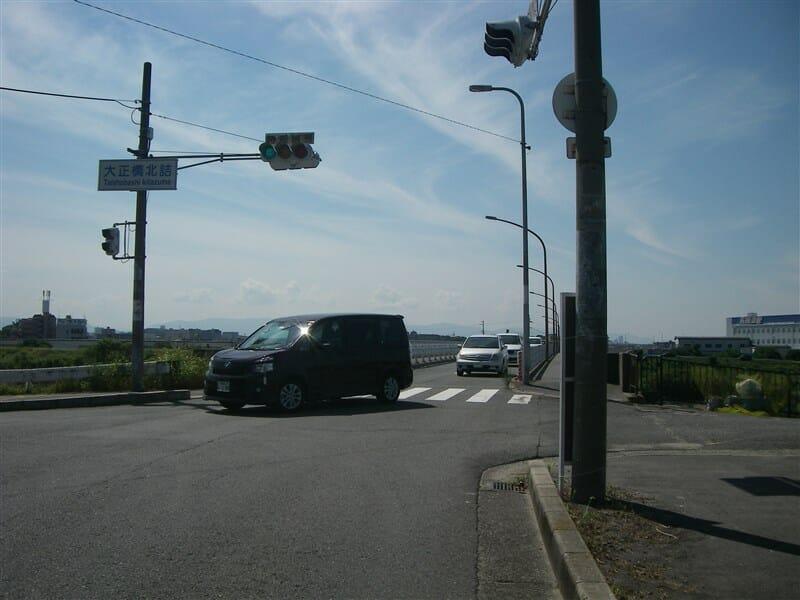起点の大正橋
