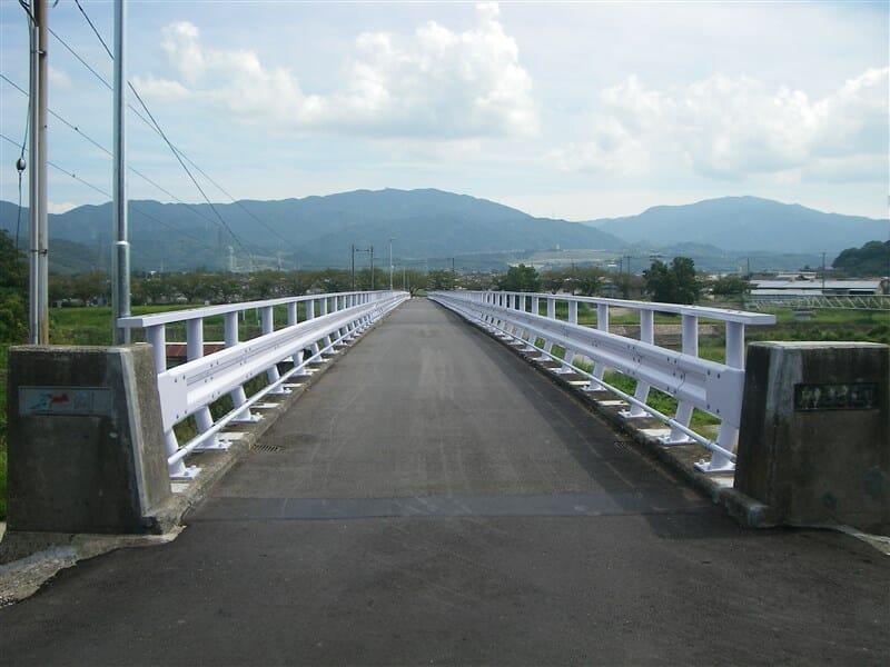 修復された新北橋