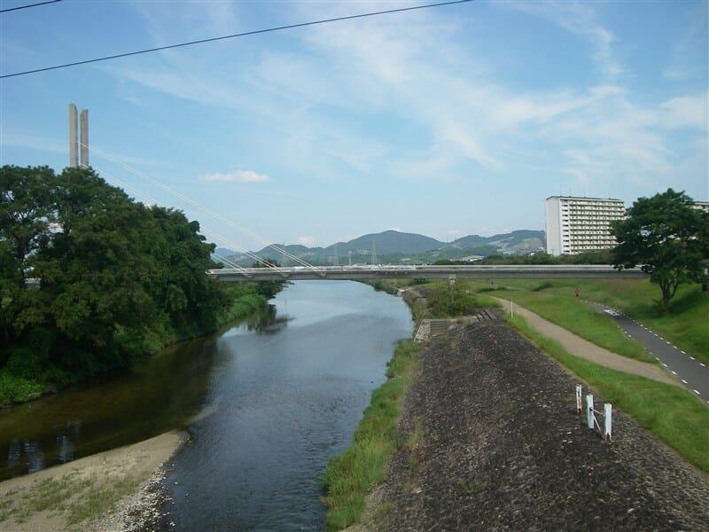 新北橋からの石川サイクル橋