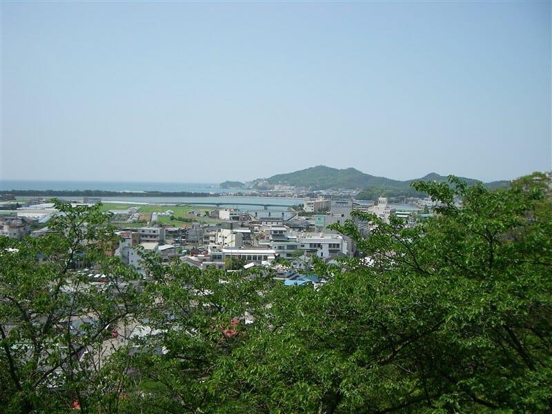 紀三井寺から和歌の浦を望む