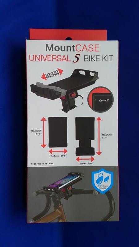 Tigra Sport Mount Case Universal 5 Bicycle Bike Kit