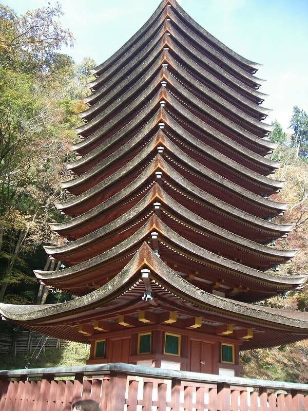 十三重塔:談山神社のシンボル