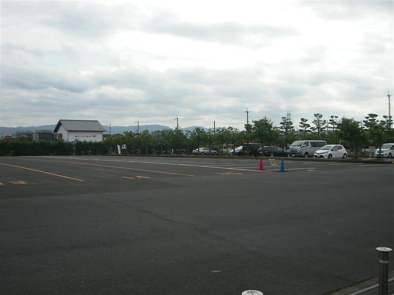 薬師寺駐車場