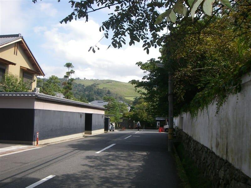 東大寺の裏辺り