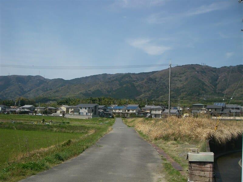 大原野の里山風景