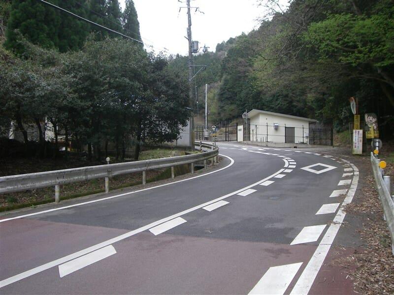 笠取第二小学校 辺り