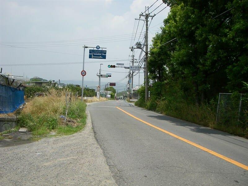 駒ヶ谷北の交差点