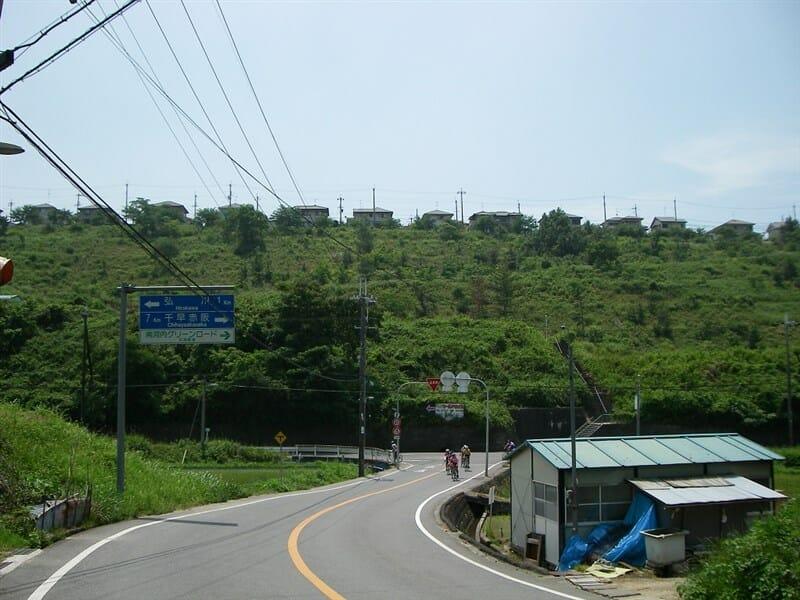 R200左折し弘川へ