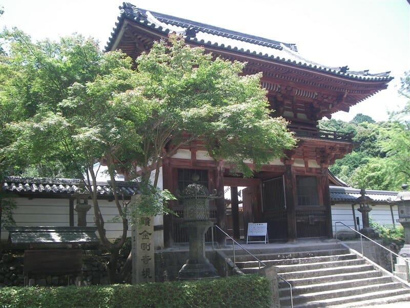 天野山金剛寺  楼門