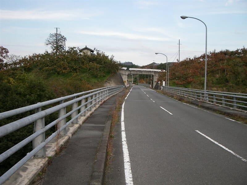 フルーツロード:西吉野から、奈良県吉野郡下市町に続く『柿』だらけの道