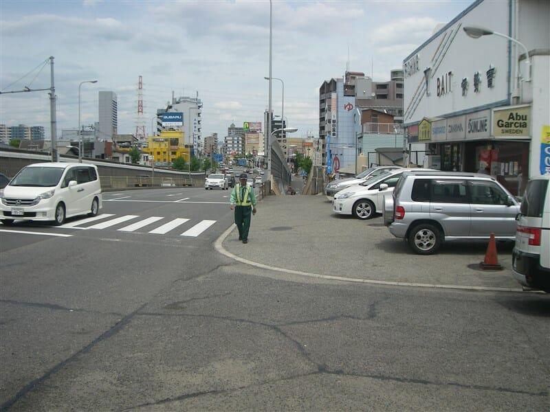 阪堺大橋を北に渡る