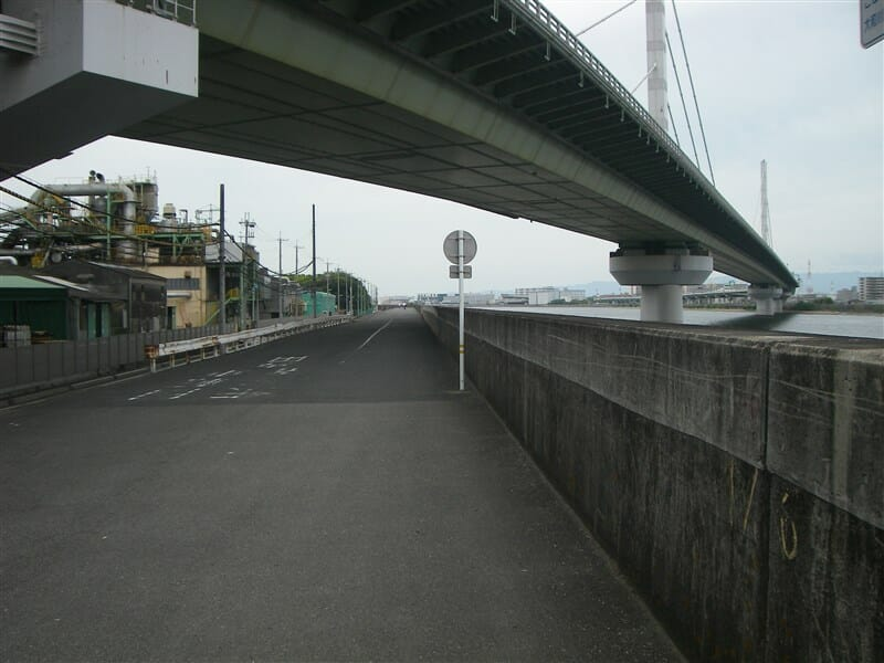 阪神高速4号湾岸線下