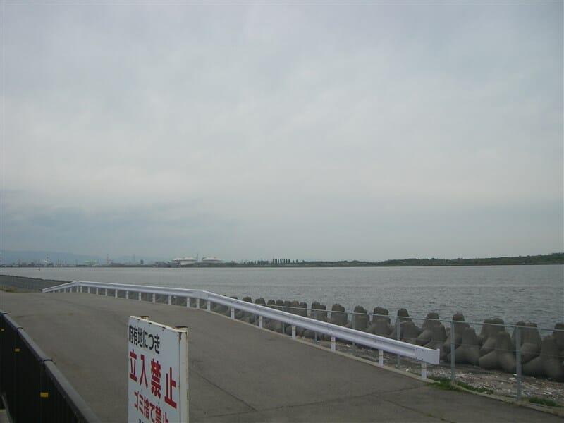 海とのふれあい広場からの眺め