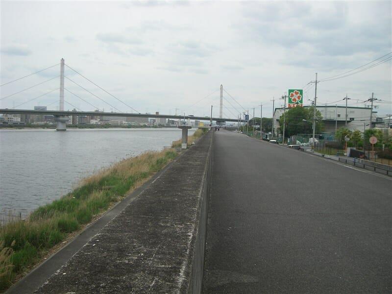 再び大和川へ