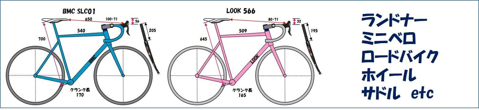 ロードバイクの機材 フレームやパーツとメンテナンス