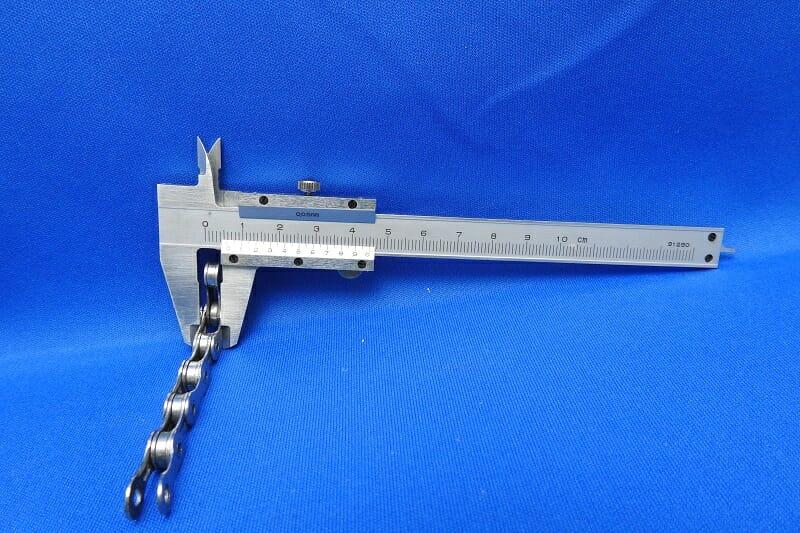 CN-7900 チェーンの幅測定