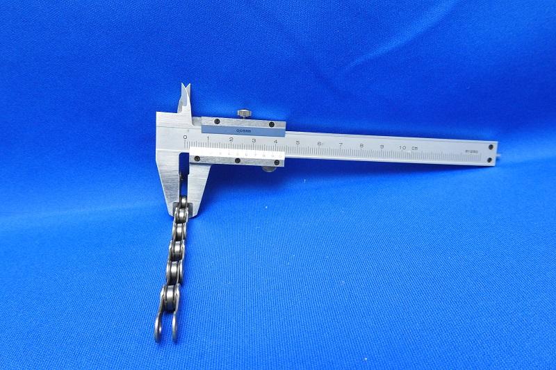 11速 CN-9000 のチェーン幅測定