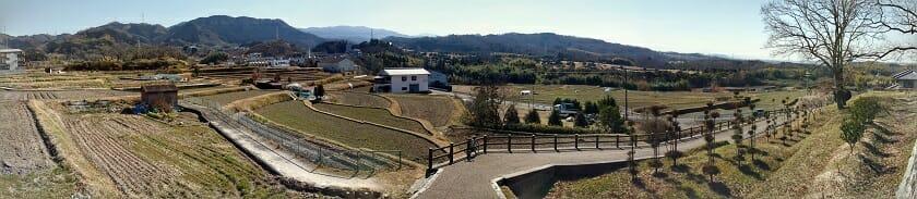 推古天皇陵からの眺め