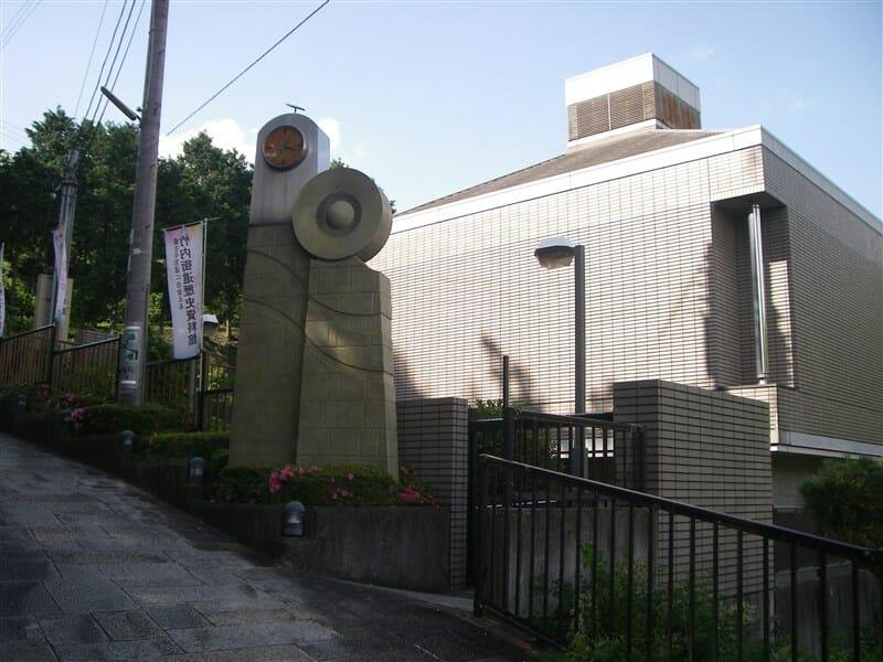 竹内街道歴史資料館への登り