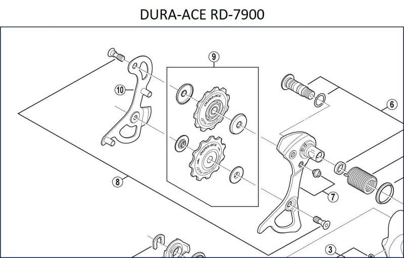 シマノ Dura-Ace RD-7900 仕様